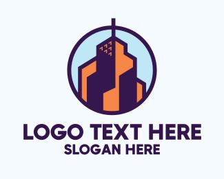 High Rise - High Rise Building logo design
