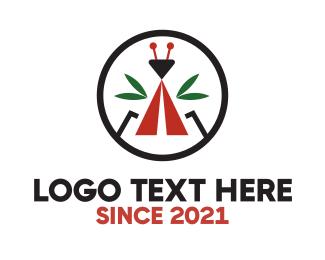 Logo Design - Ant Camp