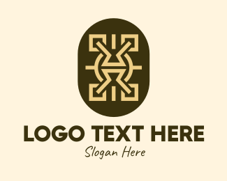 Indigenous - Tribal Shield logo design