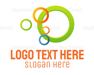 Ring - Colorful Rings logo design