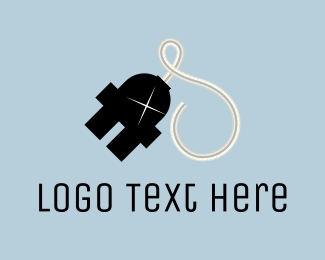 Electrician - Space Electric logo design