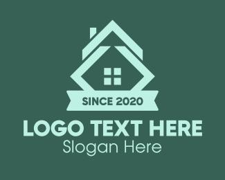 Roof Repair - Property Banner Realty logo design