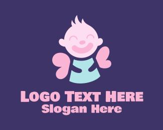 Baby - Baby Angel logo design