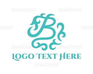 Letter B - Mint Letter B logo design
