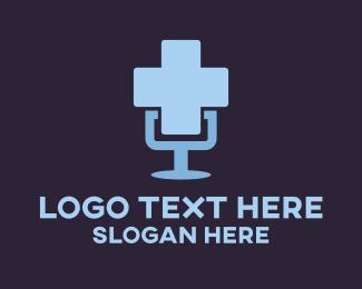 Speaker - Hospital Speaker logo design