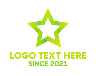 Amusement - Green Star logo design