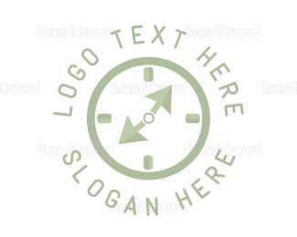 Second - Click Clock logo design