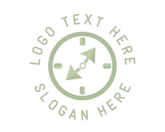 Clock - Click Clock logo design