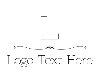 Events - Delicate Luxury Serif Font logo design