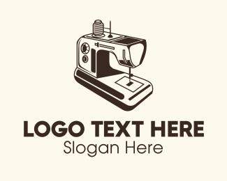 Machine - Electric Sewing Machine logo design