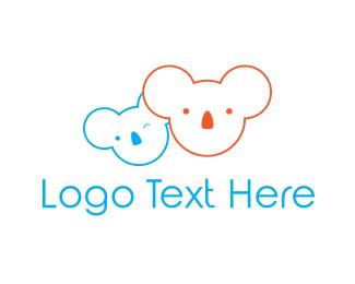 Australian - Koala Bear logo design