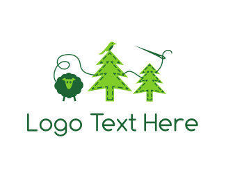 Thread - Felt Forest logo design