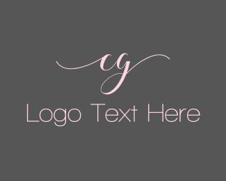Sleek - Pink C & G logo design