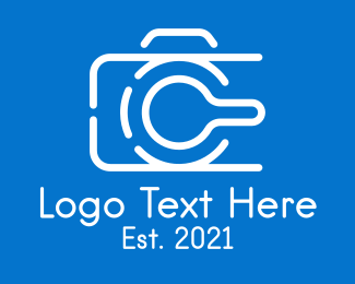 Bloggers - Minimalist Digital Camera  logo design