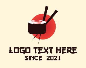 Sushi - Japanese Sushi Restaurant logo design