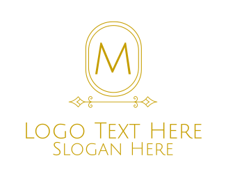 Villas - Minimalistic Stroke Lettermark logo design