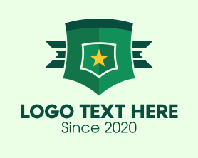 Authority - Military General Badge logo design