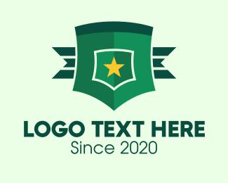 General - Military General Badge logo design