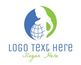Mother - Global Mother logo design