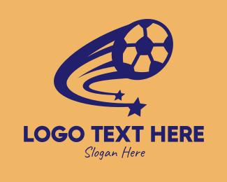 Fc - Soccer Shooting Star logo design
