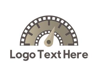 Youtube - Flimstrip Meter logo design