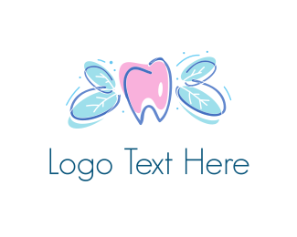 Dental Natural Dental logo design