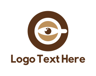 Eye - Coffee Eye logo design