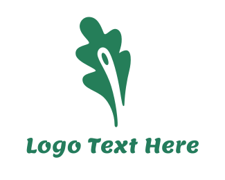 New Zealand - Green Fern Leaf logo design