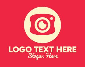 Camera - Mobile Photography Camera logo design