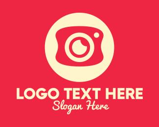 Camera Repair - Mobile Photography Camera logo design