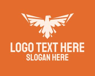 Security - Spread Wings Eagle logo design