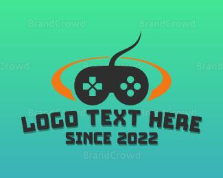 Remote - Game Controller logo design
