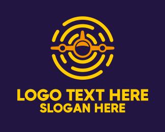 Logo Design - Sunny Plane