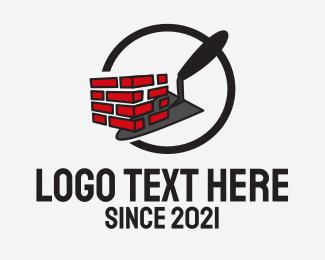 Renovation - Brick Wall Renovation logo design