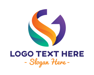 Services - Colorful Modern Letter G logo design