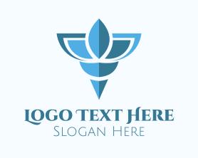 Shell - Elegant Blue Shell logo design