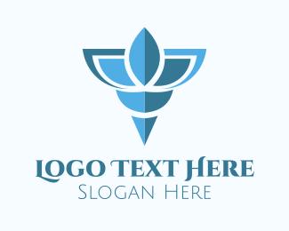 Wings - Blue Shell logo design
