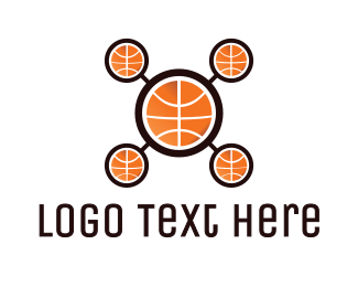 Analyst - Basketball Drone logo design