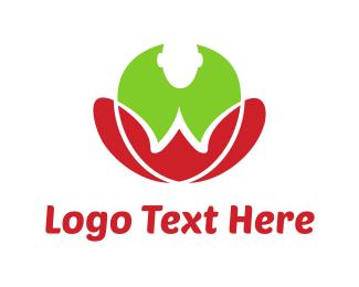 Body - Yoga Flower logo design