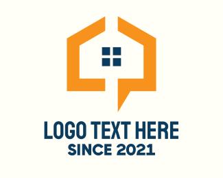 House - Modern Real Estate Company logo design
