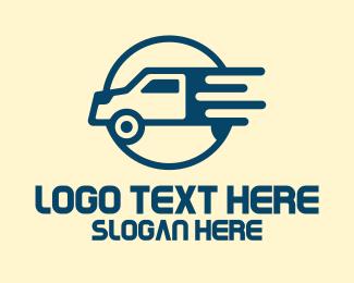 Moving Service - Speedy Truck Company logo design