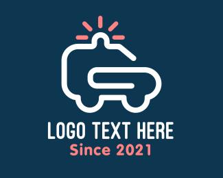 Security - Security Vehicle logo design