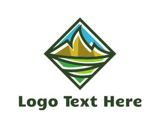 Peak - Gold Peaks logo design