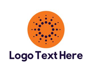 Orange Orange - Orange Sun logo design