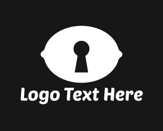 Firewall - Lemon Security logo design