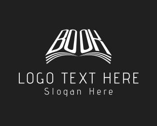 Literacy - White Book logo design