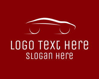 Taxi Service - Minimalist Sports Car  logo design
