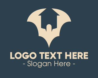 Bat - Bat House logo design
