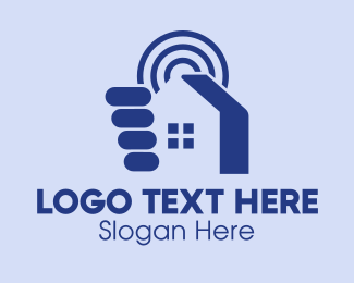Signal - House Hunting Signal logo design