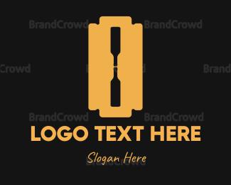 Blade - Bottle Blade logo design